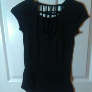 Cute Top With Back Cutout